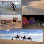 Desert&saltlake+overnight camping