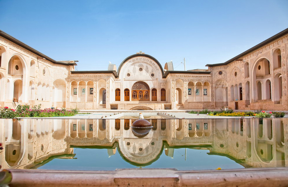 Magnificent Khan-e Tabatabei historic house, Kashan , Iran